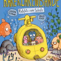 """Christian Tielmann: """"Die Kakerlakenbande. Ratzfatz zum Schatz"""" Fischer Verlag"""